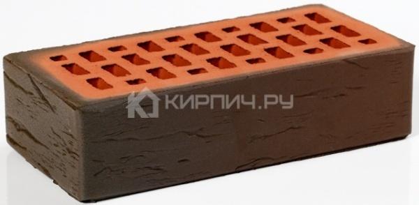 Кирпич облицовочный баварская кладка светлый одинарный руст М-200 Пятый Элемент