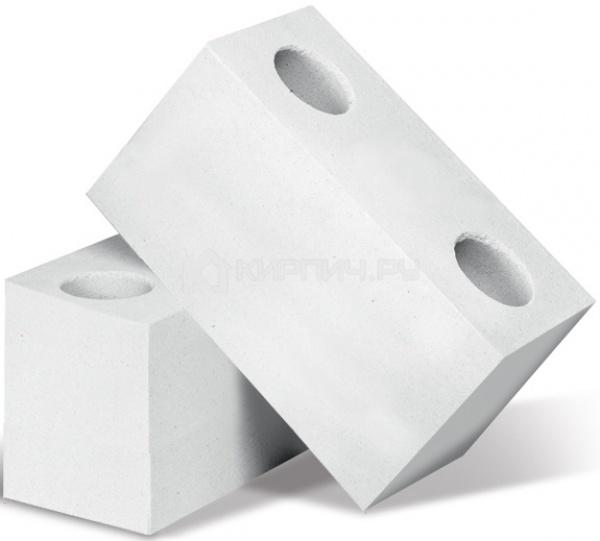 Силикатный кирпич белый двойной полнотелый с тех.пустотами СТК-2001