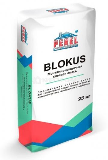 0318 Blokus Клеевая смесь для блоков PEREL 25 кг