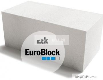 Блок газобетонный Д400 600х300х300 Euroblock