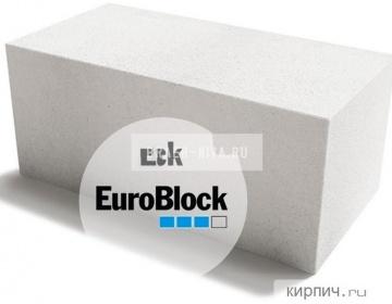 Блок газобетонный Д400 600х300х375 Euroblock
