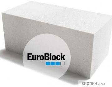 Блок газобетонный Д500 600х300х300 Euroblock