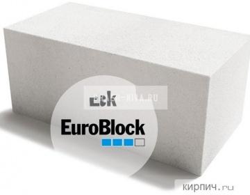 Блок газобетонный Д500 600х300х375 Euroblock