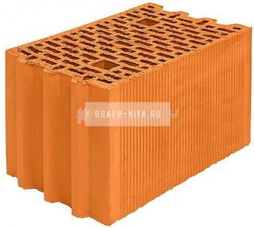 Блок керамический Porotherm 25М поризованный 10,53 НФ