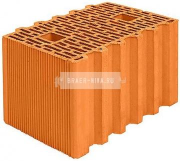 Блок керамический Porotherm 38 GL поризованный 10,67 НФ