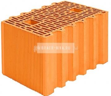 Блок керамический Porotherm 38 поризованный 10,67 НФ
