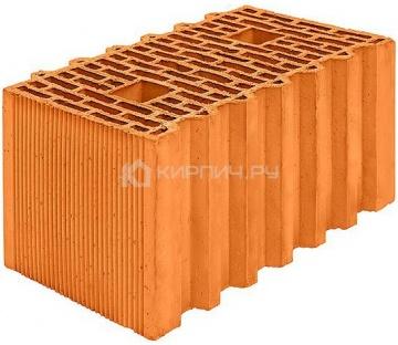 Блок керамический Porotherm 44 GL поризованный 12,35 НФ