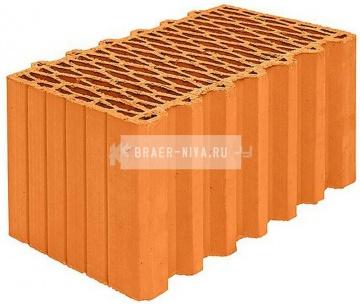 Блок керамический Porotherm 44 поризованный 12,35 НФ
