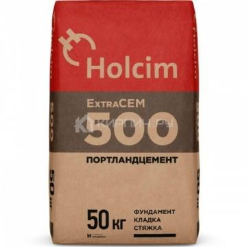 Цемент Holcim ExtraCEM 500 Портландцемент II/А-И 42,5 Б, 50кг