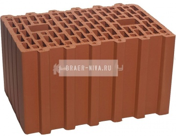 Камень керамический крупноформатный Braer 38 10,7 НФ 380х250х219