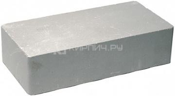 Кирпич гиперпрессованный одинарный М-250 серый гладкий