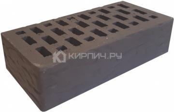 Кирпич облицовочный какао одинарный рустик М-150 Терекс