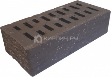 Кирпич облицовочный какао одинарный рустик с песком М-175 Терекс
