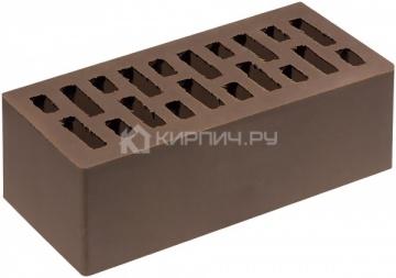 Кирпич облицовочный корица полуторный гладкий М-200 Липецк