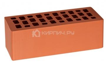 Кирпич облицовочный красный полуторный гладкий М-200 ВКЗ