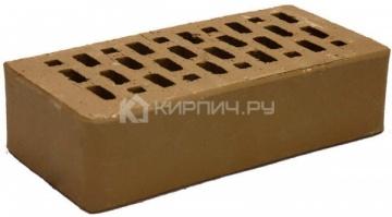 Кирпич облицовочный мокко одинарный гладкий М-150 Терекс