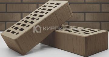 Кирпич облицовочный мокко одинарный шале М-150 Терекс