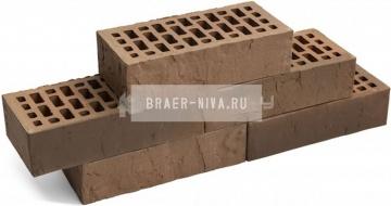 Кирпич облицовочный Мускат одинарный Терра М-150 Браер