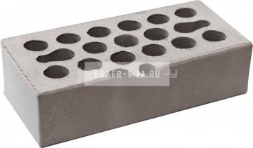 Кирпич облицовочный серебро одинарный гладкий М-150 Керма