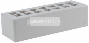 Кирпич облицовочный серый евро гладкий М-300 ЖКЗ