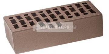 Кирпич облицовочный серый одинарный гладкий М-150 ЛСР