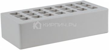 Кирпич облицовочный серый одинарный пена М-300 ЖКЗ