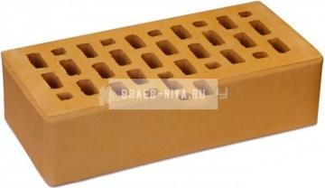 Кирпич облицовочный солома одинарный гладкий М-150 Терекс Цех 1