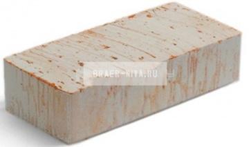 Кирпич строительный полнотелый одинарный М-125 рифленый Смоленский КЗ