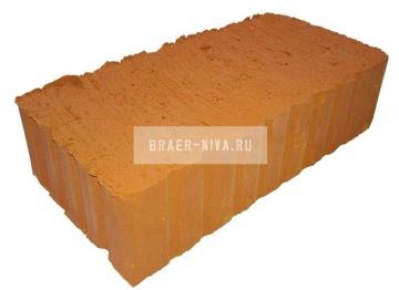 Кирпич строительный полнотелый одинарный М-125 рифленый Вязьма