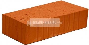 Кирпич строительный полнотелый одинарный М-150 рифленый Боголюбовский
