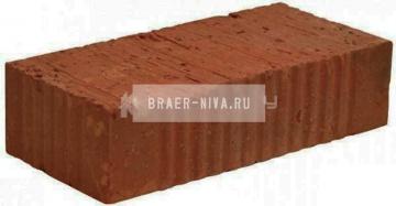Кирпич строительный полнотелый одинарный М-150 рифленый Ржевкирпич