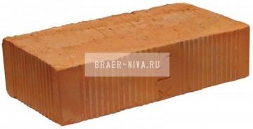 Кирпич строительный полнотелый одинарный М-150 рифленый Воскресенский