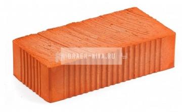 Кирпич строительный полнотелый одинарный М-200 рифленый Богородск