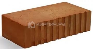 Кирпич строительный полнотелый одинарный М-200 рифленый Каширский кирпич