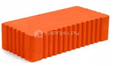 Кирпич строительный полнотелый одинарный М-200 рифленый Мстера