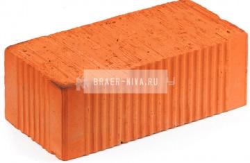 Кирпич строительный полнотелый полуторный М-150 рифленый Богородск