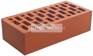 Кирпич строительный щелевой одинарный 150 гладкий Браер