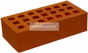 Кирпич строительный щелевой одинарный М-150 гладкий Михневская керамика