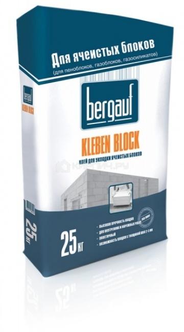 Клей для блоков Bergauf Kleben Block Winter 25 кг