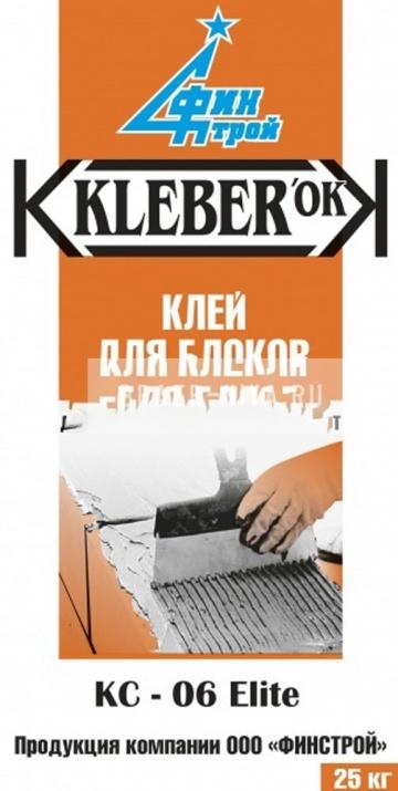 Клей для блоков KLEBERok КC-06 ELITE Финстрой (ПМД -5 С) 25кг