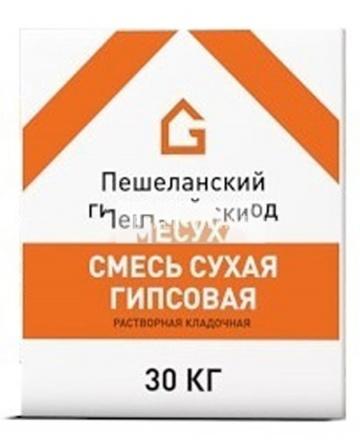 Клей Пешеланский гипсовый завод 30 кг