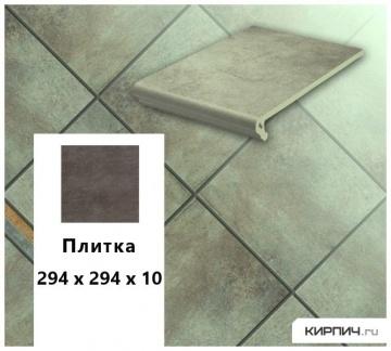 Клинкерная напольная плитка Stroeher KERAPLATTE AERA 711 onda, 294х294х10