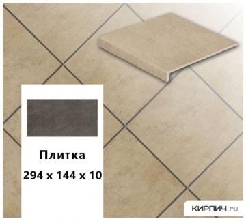 Клинкерная напольная плитка Stroeher KERAPLATTE ASAR 635 gari, 294х144х10