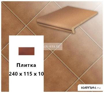 Клинкерная напольная плитка Stroeher KERAPLATTE DURO 803 elba, 240x115x10