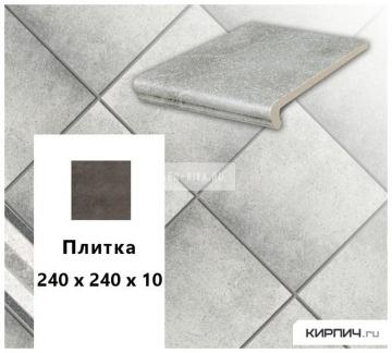 Клинкерная напольная плитка Stroeher KERAPLATTE ROCCIA 837 marmos, 240х240х10