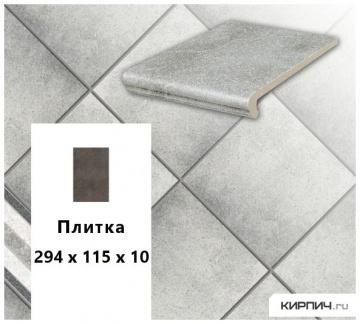 Клинкерная напольная плитка Stroeher KERAPLATTE ROCCIA 837 marmos, 240x115x10
