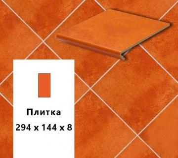 Клинкерная напольная плитка Stroher CADRA E 524 male, 294х144х8
