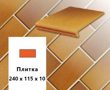 Клинкерная напольная плитка Stroher CLASSICS E 305 puma, 240x115x10