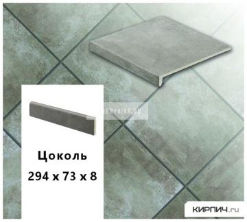 Клинкерный цоколь Stroeher KERAPLATTE AERA X S710 crio, 294х73х8