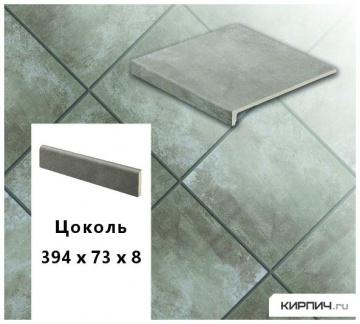 Клинкерный цоколь Stroeher KERAPLATTE AERA X S710 crio, 394х73х8